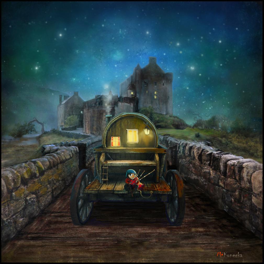 Eilean Donan Piper (Eilean Donan Castle)